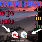 Lansare Chrome direct  in Incognito si Youtube direct pe abonamente