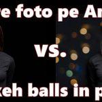 Kaip pridėti bokeh kamuoliukus į foną nuotraukose