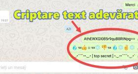 הצפנת שיחות Messenger Whatsapp