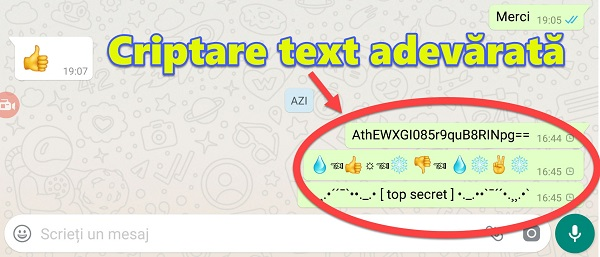 Encrypt Whatsapp and Messenger conversations