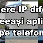 Različne IP kamere v aplikaciji na Androidu