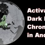 Activare Dark Mode Google Chrome Android