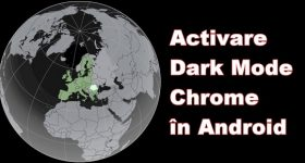 Activer le mode sombre Google Chrome Android