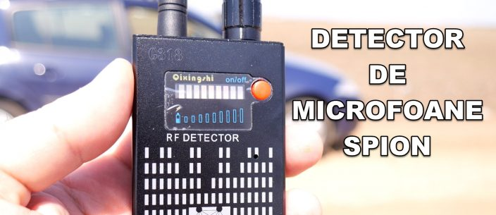 Spy GPS tracker microphone detector