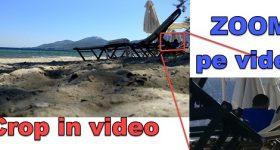 Kako povećati područje u videu
