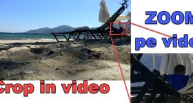Come ingrandire un'area nel video