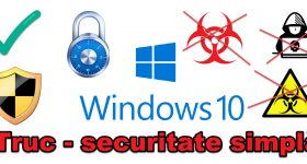 Configuración de seguridad simple simple en Windows