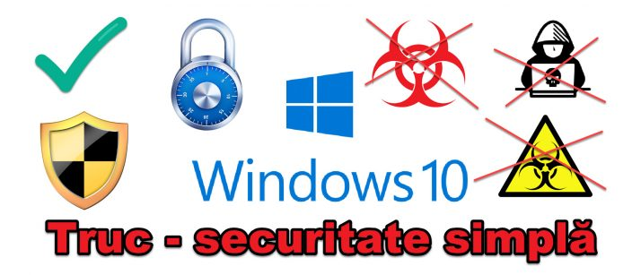Simple simple security setting on Windows