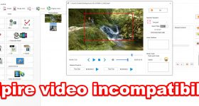 Video mezclando diferentes resoluciones formadas