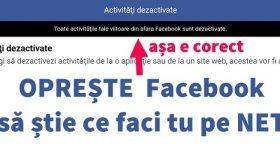 Slette surfedata fra utenfor Facebook - Aktivitet utenfor Facebook eller aktivitet utenfor Facebook