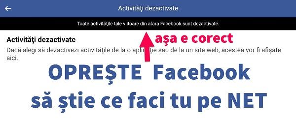 Navigācijas datu noņemšana ārpus Facebook - darbība ārpus Facebook vai darbība ārpus Facebook