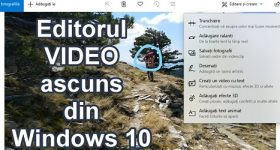 Hidden video editor in Windows 10