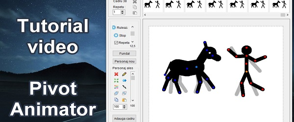 Animations-Tutorial mit Pivot Animator
