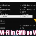 Команда отображения паролей Wi-Fi в CMD - на любой Windows