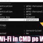 """Komandų rodymo slaptažodžiai """"wi-fi"""" CMD - bet kurioje """"Windows"""""""