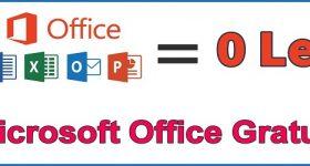 नि: शुल्क Microsoft कार्यालय