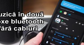 Conectare doua boxe bluetooth pe wireless