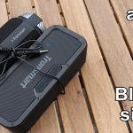 Musikk på to tilkoblede Bluetooth-høyttalere - den fungerer også som en lydbar