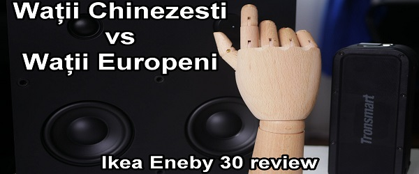 Review boxa Bluetooth Ikea Eneby 30