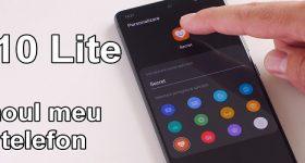 Samsung S10 Lite-business van het moment