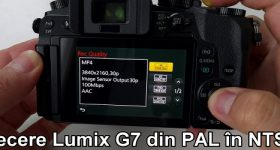 Skift FPS til Panasonic Lumix G7