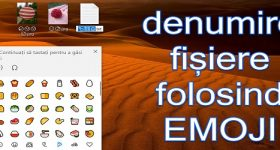Emoji come nomi di file