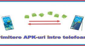 Cum trimiți aplicațiile APK din telefon