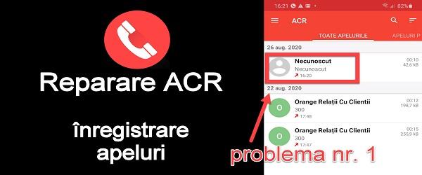 Înregistrare apeluri telefoanice cu ACR