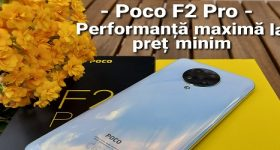 Xiaomi Poco F2 PRO incelemesi VİDEO
