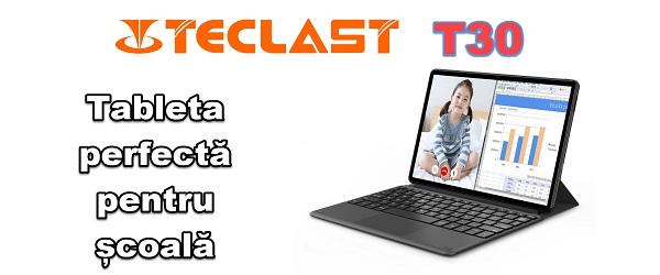 Таблет за онлайн училище Teclast T30