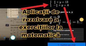 Applications for solving exercises in Microsoft Math and Photomath mate