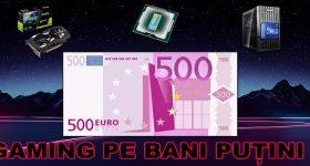 Konfiguracija igralništva pri 500 evrih