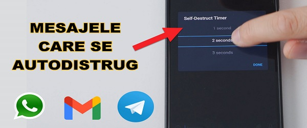 Video tutorial - NEW PRIVATE messages on WhatsApp and Telegram and Gmail alternative
