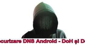 Android DNS security with DoH and DoT