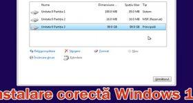 Instalacija sustava Windows 10