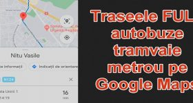 How to see Google Maps bus routes