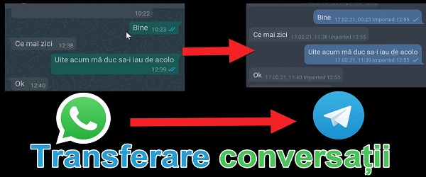 Premjestite razgovore WhatsApp na Telegram