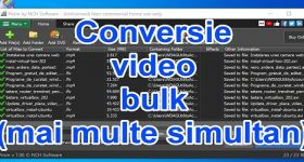 Transcodificação de vídeo em massa simultaneamente com Prism