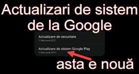 Faceti Actualizarea de Sistem Google Play