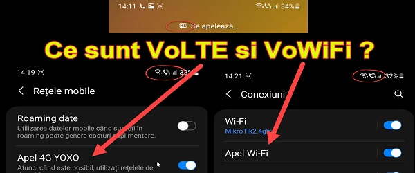 What are VoLTE and VoWiFi technologies