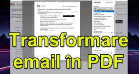 How to save an email as a PDF