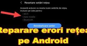 Đặt lại cài đặt mạng trên Android