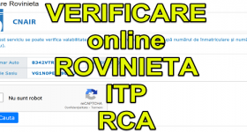 Online verification ROPINIETA ITP and RCA