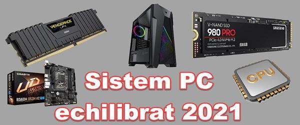 Konfigurasi game PC 2021 opsional yang seimbang