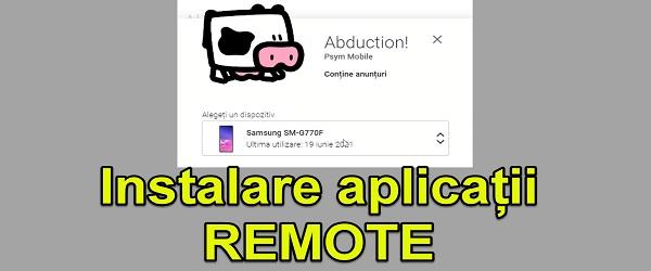 Installera Android-applikationer på distans