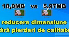 Reducerea dimensiunii fișierelor video fără pierderi