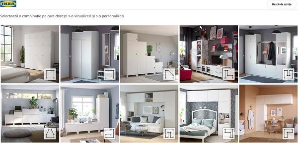 कस्टम अलमारी के लिए विन्यासकर्ता Ikea Platsa 1