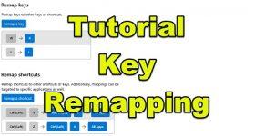 Key remapping sau realocare taste Windows