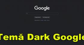 Aktivera mörkt tema i Google Sök
